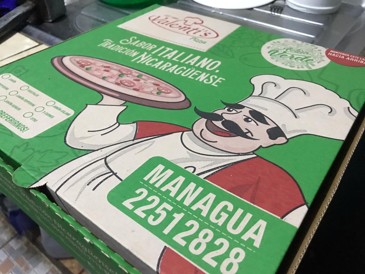 Pizza Valentis el primer negocio en aceptar PayPal en Nicaragua