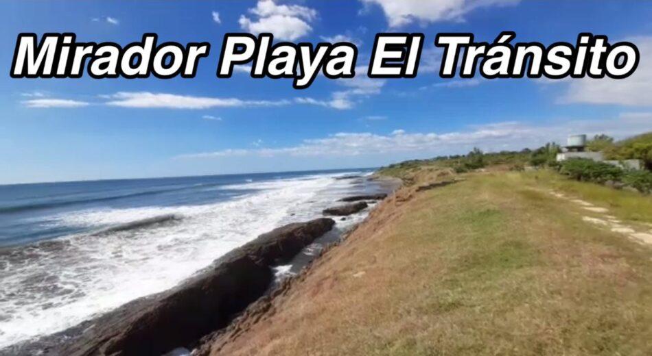 Mirador Playa El Tránsito en León Nicaragua