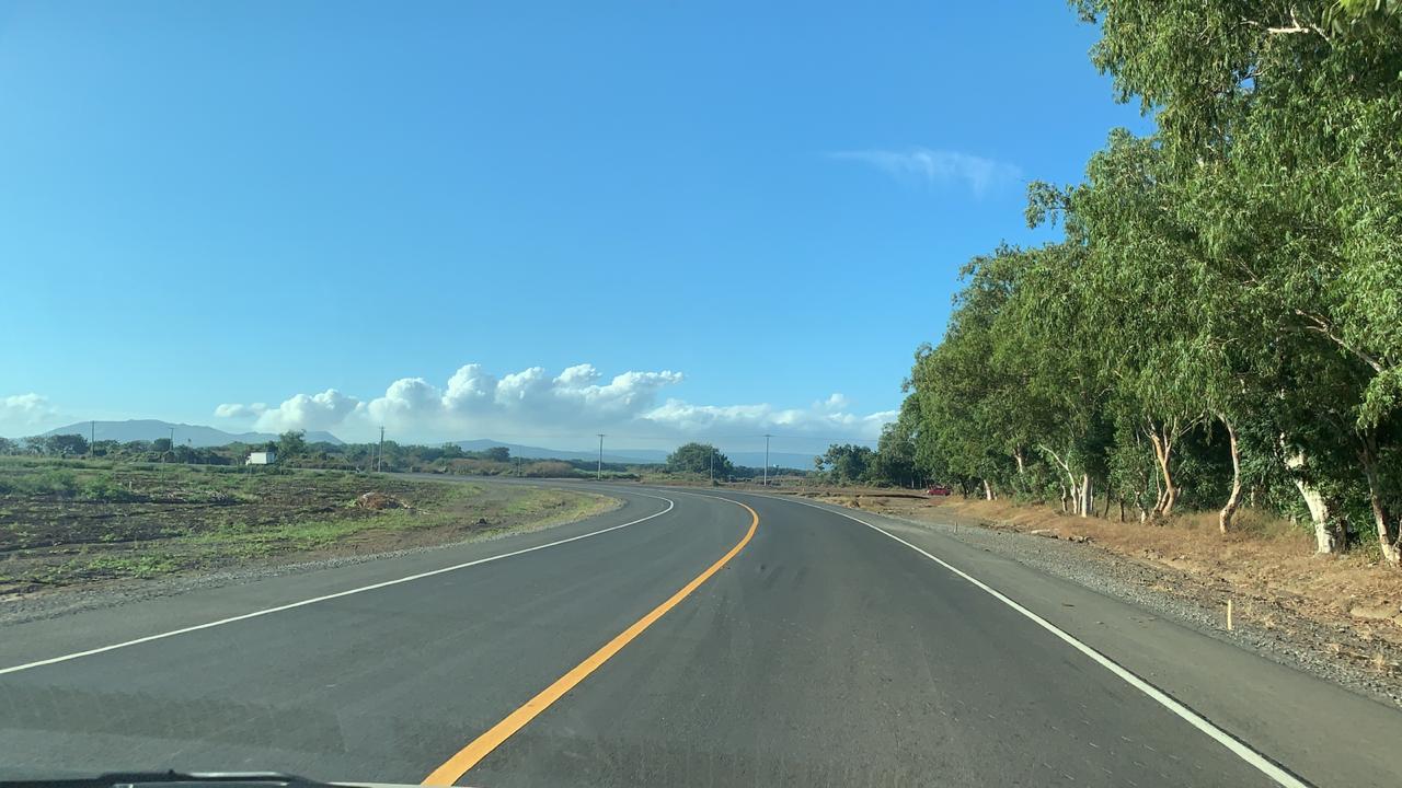Nueva carretera Rotonda Las Mercedes al Coyotepe