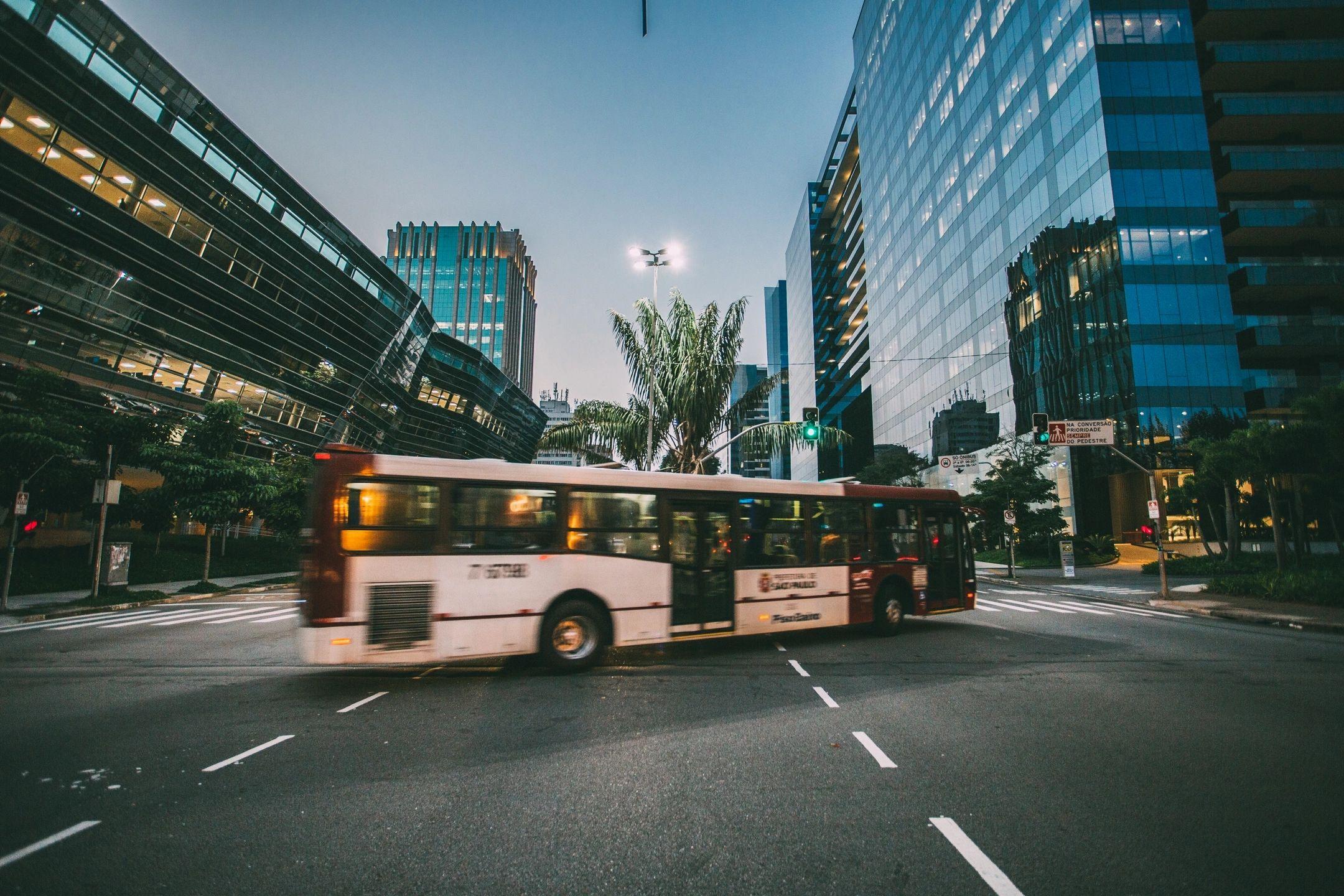 Nuevo Metrobús en la Pista Juan Pablo Segundo Managua