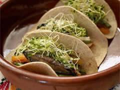 Tacos de girasol