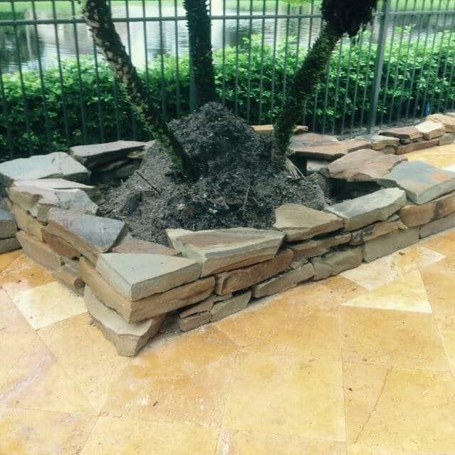 Home And Garden Planter Installation