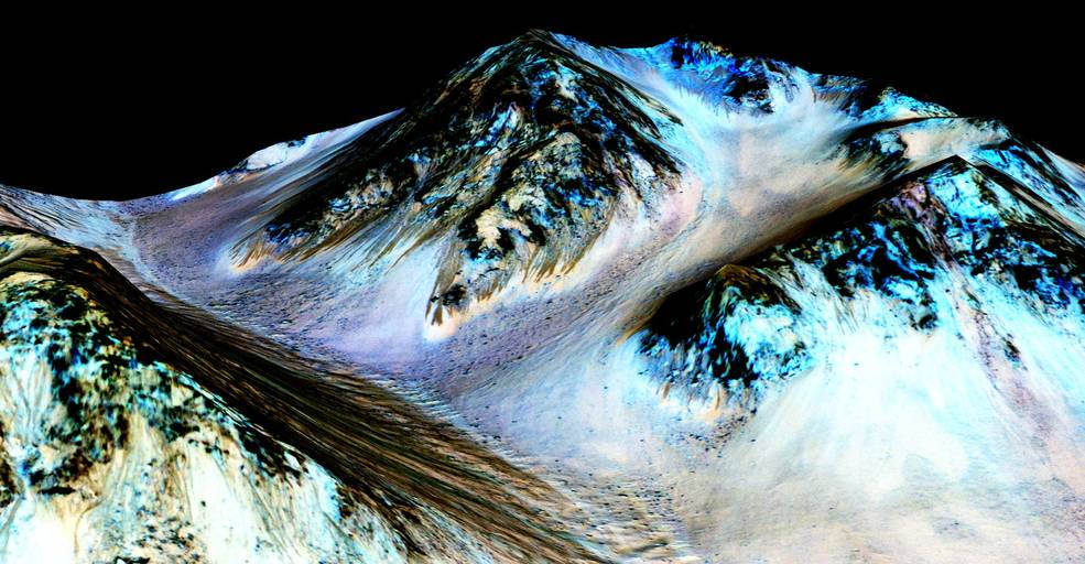 NASA Water on Mars