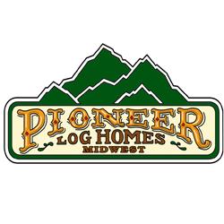 Pioneer Log homes midwest logo 200