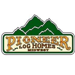 Pioneer Log homes midwest logo 200
