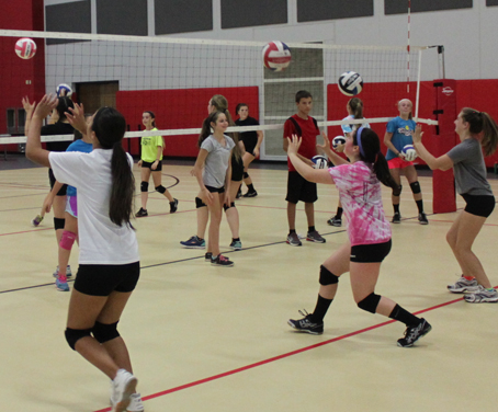 wisconsin premier vb club program X