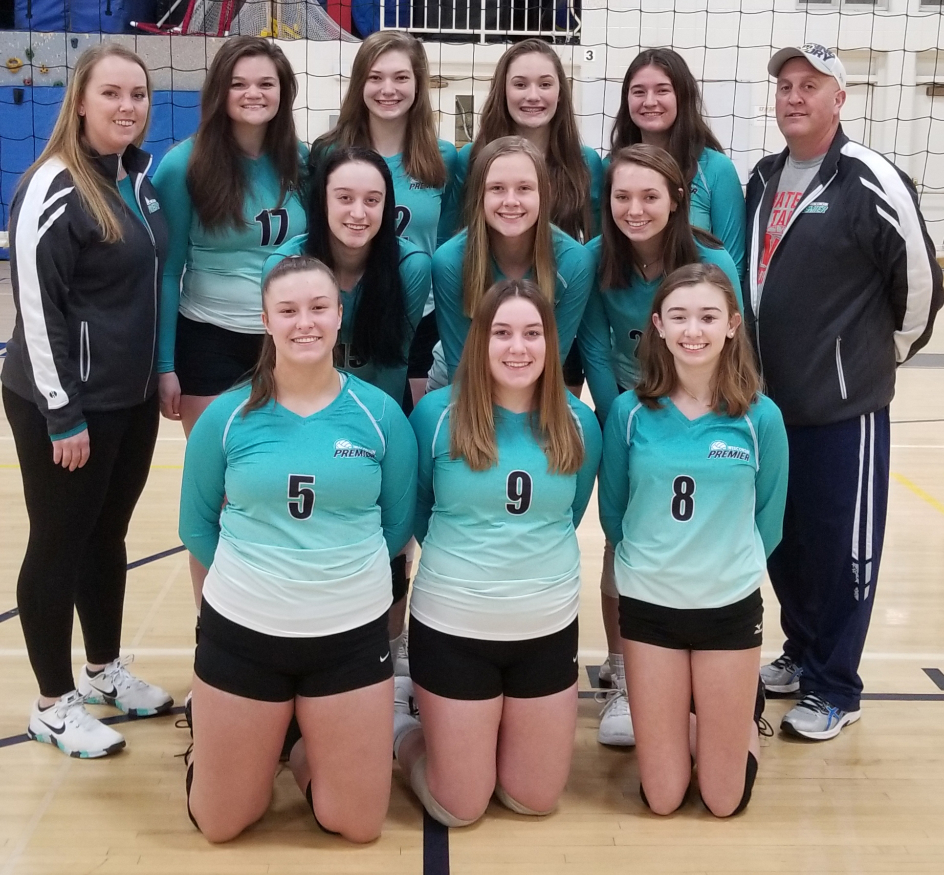 17 teal team photo