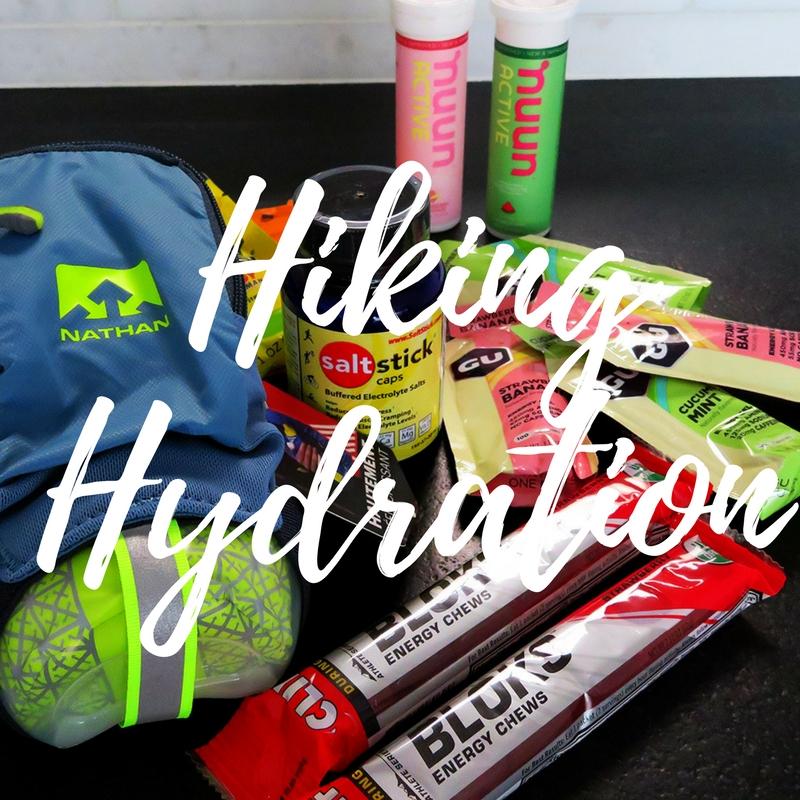 hiking hydration