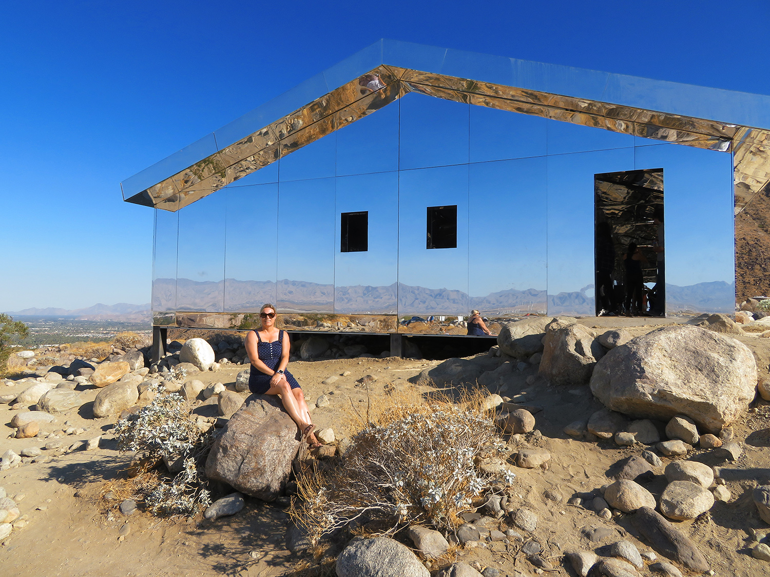 desert x mirage house in palm springs