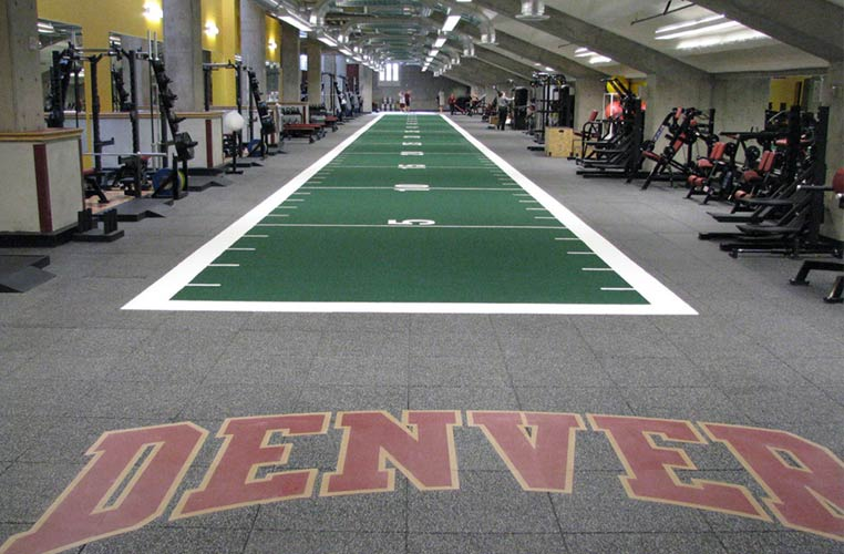 U of Denver Weight Room