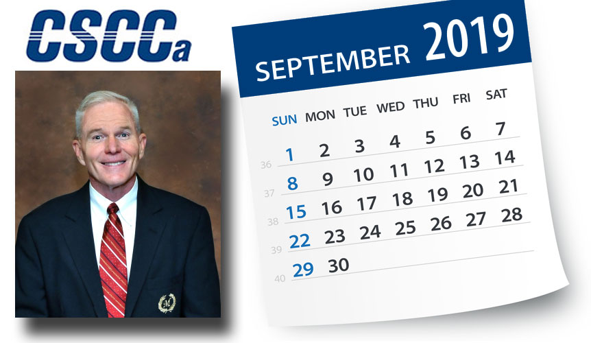 September Message From The CSCCa Executive Director