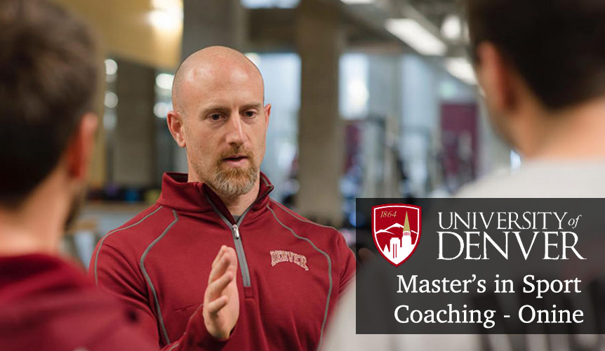 Elevate Your Coaching. Elevate Your Career. MASC From DU - Online