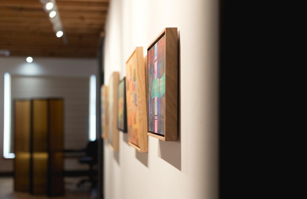 Art,exhibition, abstract, Annapolis Royal