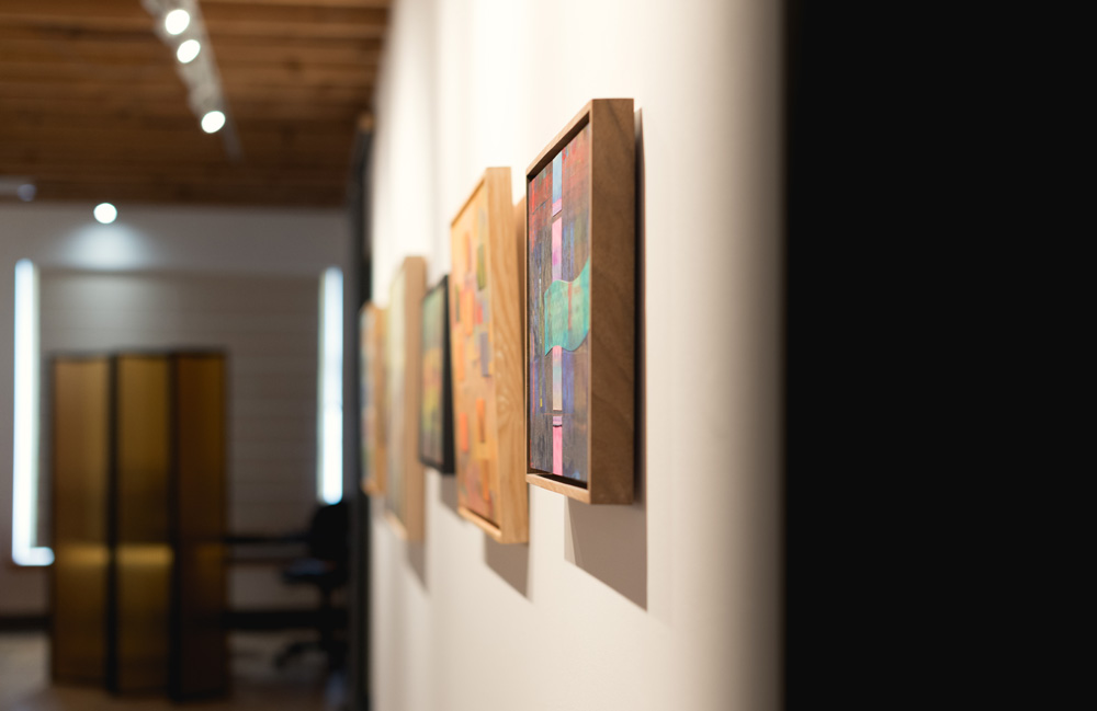 Art,exhibition, abstract, Annapolis Royal