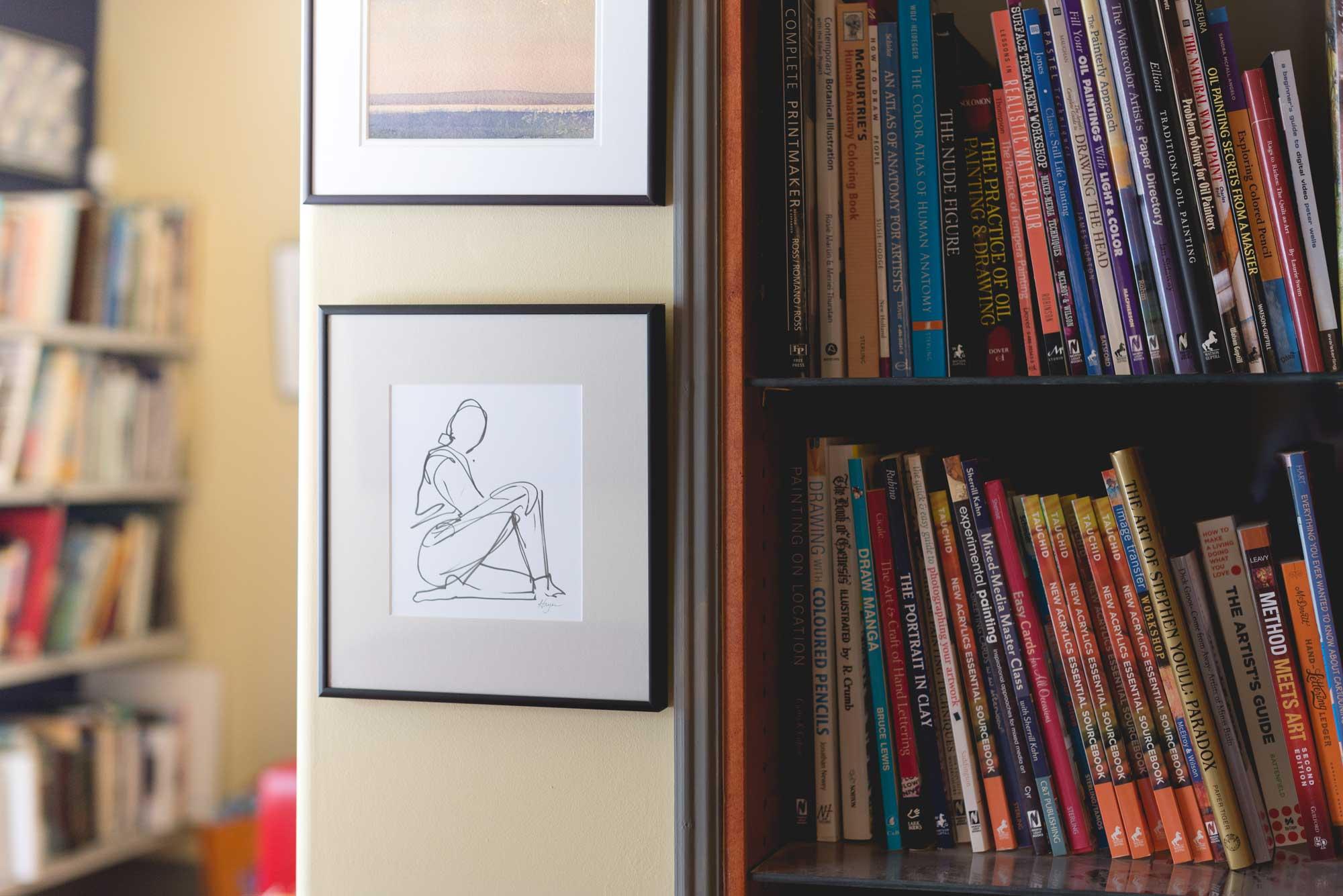 ArtCan Café - enjoy coffee, art, read, and relax
