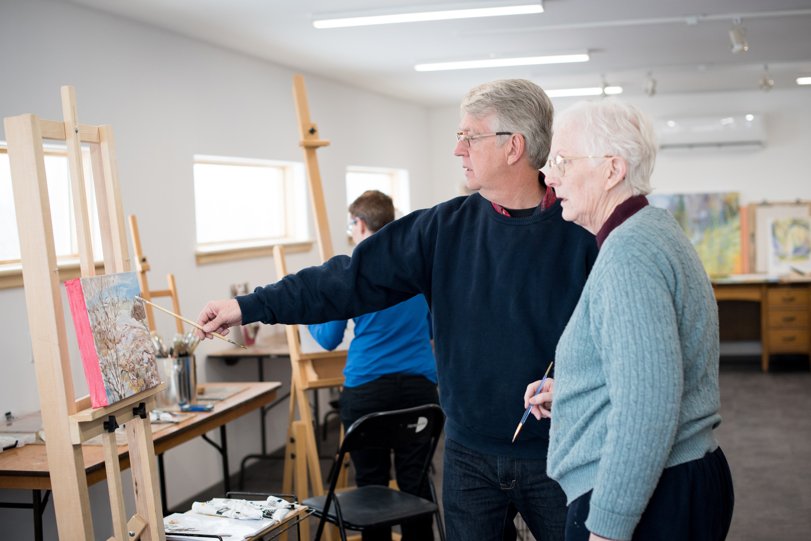 ArtCan art classes with Ron Hayes