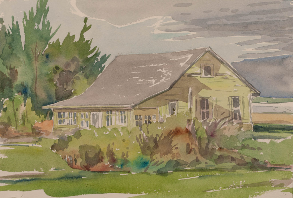 Kingsport Cottage, by artist Ron Hayes