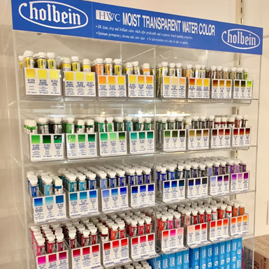 Holbein Watercolours - ArtCan art supplies in Canning, Nova Scotia