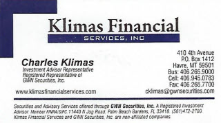 Klimas Financial Services