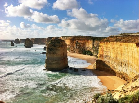 The Twelve Apostles, taken on my iPhone using HDR