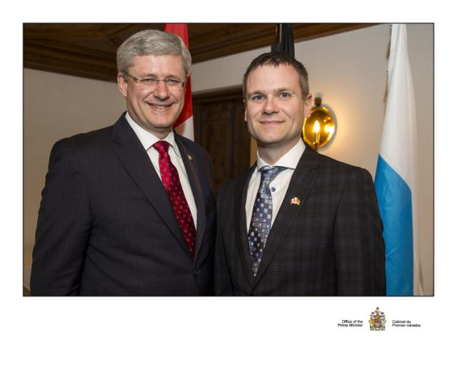 A Trip to Berlin with Canada's Prime Minister