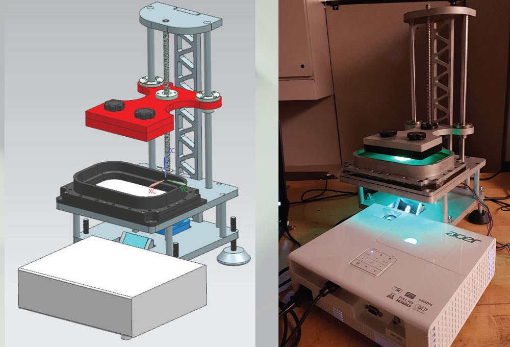Design & Development of a Layer-less 3D Printing Mechanism