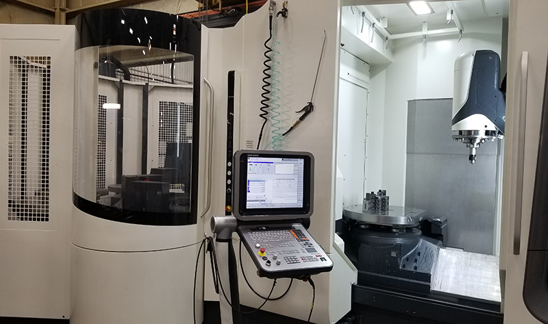 Armo-Tool Upgrades 5 Axis Machining