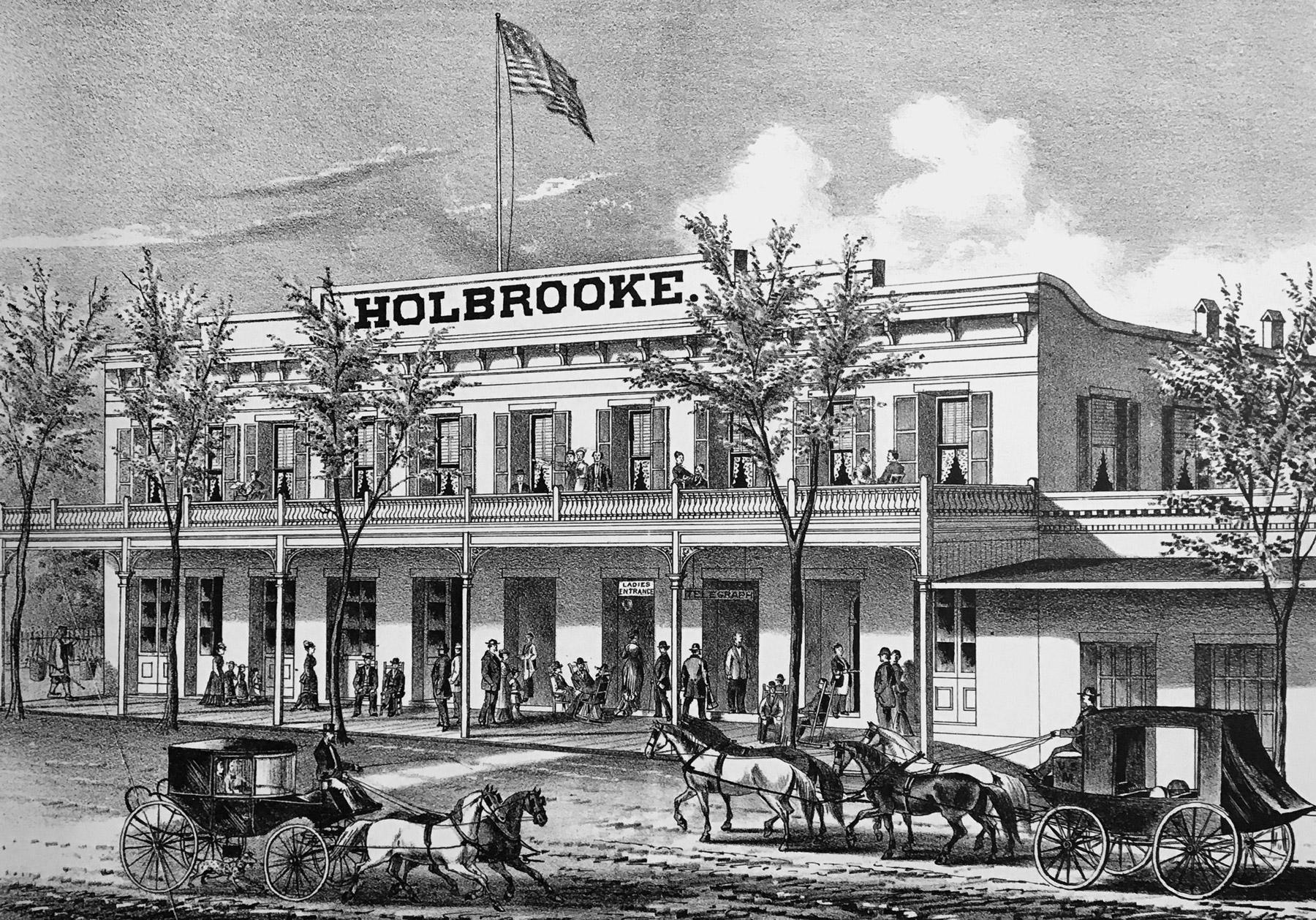 Holbrooke Illustration 1880s