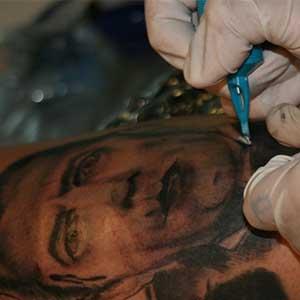 dracula tattoo black and grey portrait tutorial