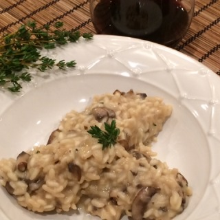 Risotto with Seasonal Mushrooms and Fresh Thyme
