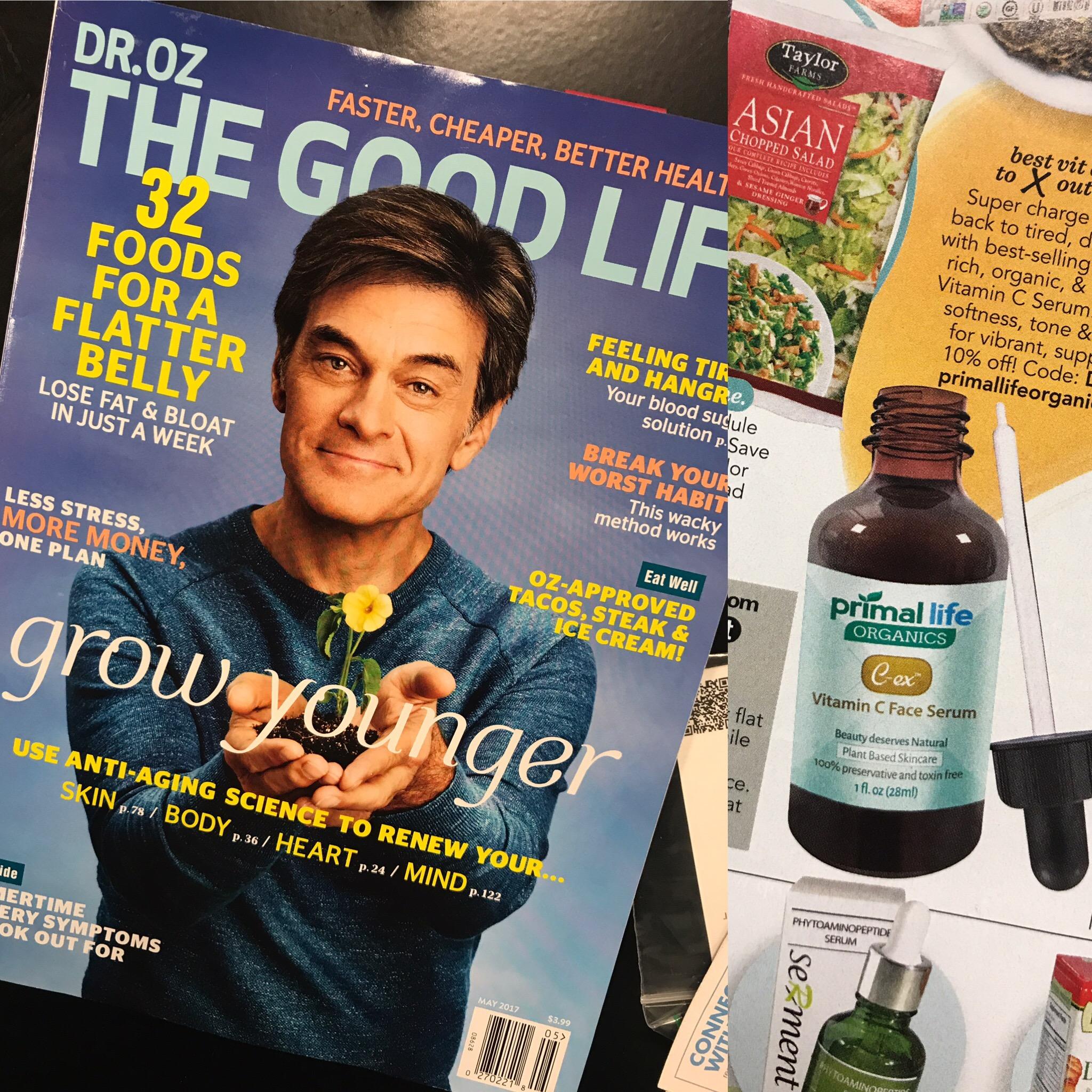 C-ex Vitamin C Serum in 'Dr. Oz The Good Life'