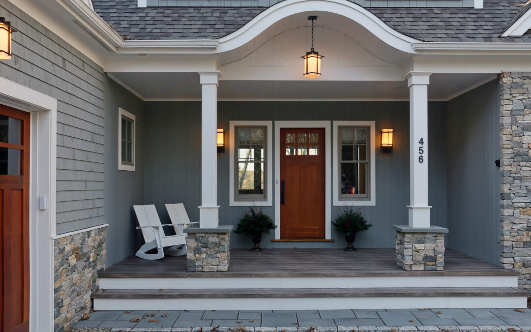 Adding Stone Veneer – What Does A Cape Cod House Look Like Today?