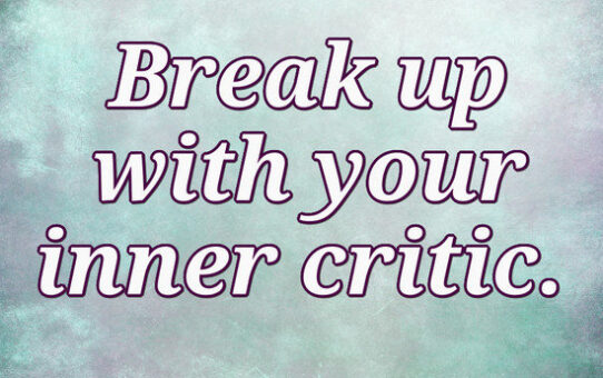 Send your inner critic to its room!