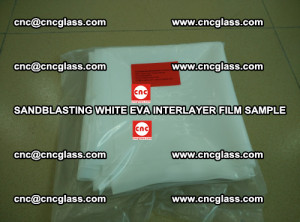 Sandblasting White EVA INTERLAYER FILM sample, EVAVISION (14)