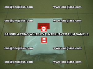 Sandblasting White EVA INTERLAYER FILM sample, EVAVISION (19)