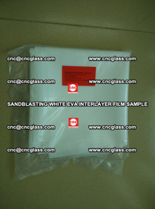 Sandblasting White EVA INTERLAYER FILM sample, EVAVISION (2)