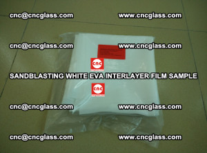 Sandblasting White EVA INTERLAYER FILM sample, EVAVISION (24)