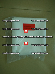 Sandblasting White EVA INTERLAYER FILM sample, EVAVISION (3)