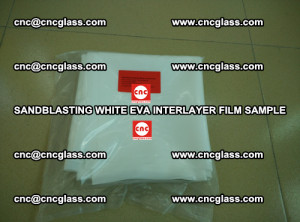 Sandblasting White EVA INTERLAYER FILM sample, EVAVISION (32)