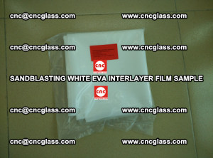 Sandblasting White EVA INTERLAYER FILM sample, EVAVISION (37)