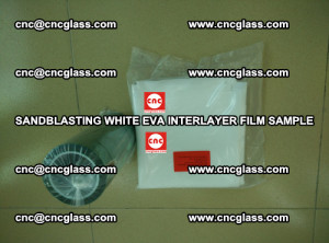 Sandblasting White EVA INTERLAYER FILM sample, EVAVISION (38)