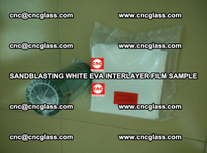 Sandblasting White EVA INTERLAYER FILM sample, EVAVISION (41)