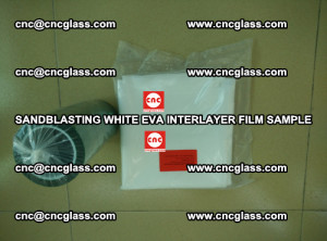Sandblasting White EVA INTERLAYER FILM sample, EVAVISION (45)