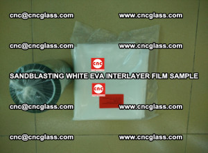 Sandblasting White EVA INTERLAYER FILM sample, EVAVISION (46)
