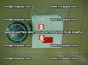 Sandblasting White EVA INTERLAYER FILM sample, EVAVISION (47)