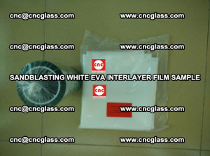Sandblasting White EVA INTERLAYER FILM sample, EVAVISION (48)