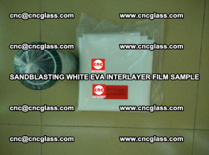 Sandblasting White EVA INTERLAYER FILM sample, EVAVISION (49)