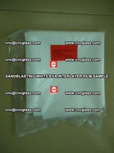 Sandblasting White EVA INTERLAYER FILM sample, EVAVISION (5)