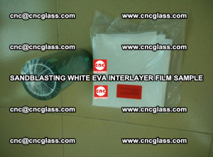 Sandblasting White EVA INTERLAYER FILM sample, EVAVISION (58)
