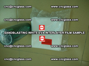 Sandblasting White EVA INTERLAYER FILM sample, EVAVISION (59)